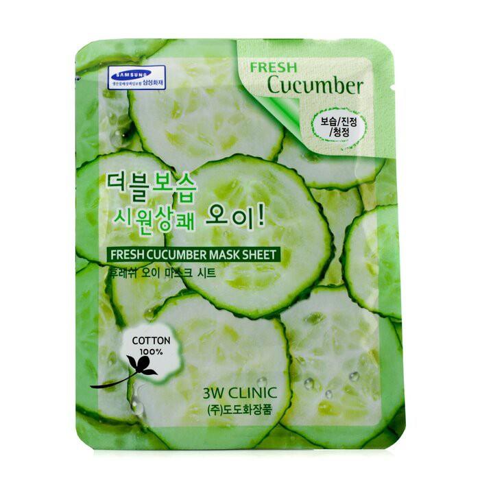 3W CLINIC - 面膜 - 黃瓜Mask Sheet - Fresh Cucumber