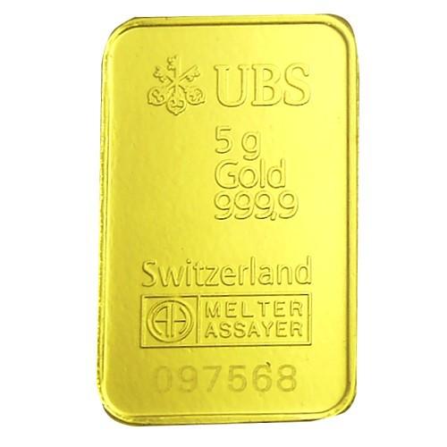 UBS kinebar 黃金條塊 5公克 5g 純金999.9