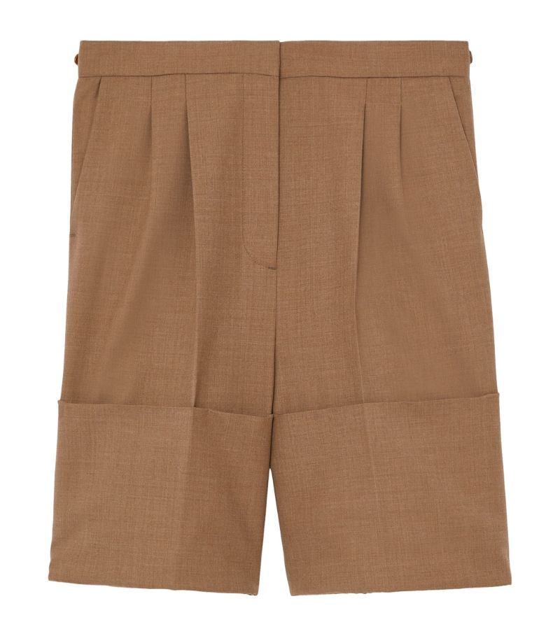 Burberry Wool Tailored Shorts