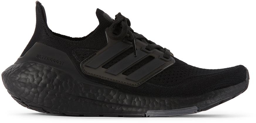 adidas Kids 黑色 Ultraboost 21 儿童运动鞋