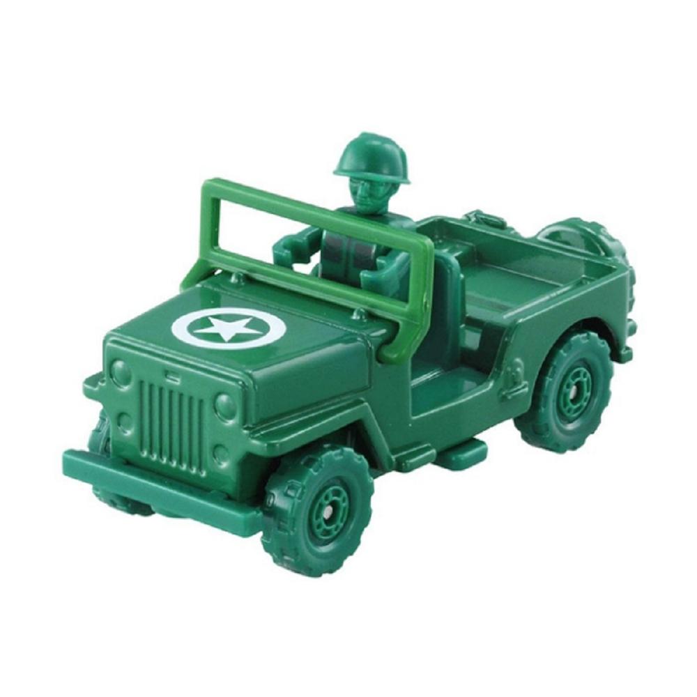 TOMICA 玩具總動員4 TS-綠色小士兵&軍事車