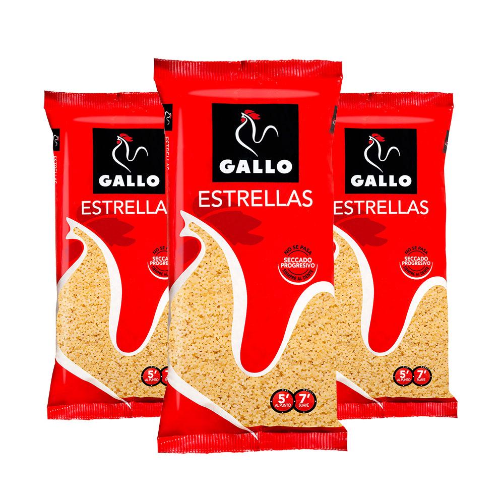 西班牙公雞Gallo星星麵三包 Estrallas 250g *3