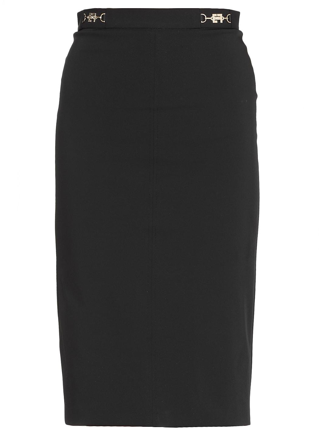 Elisabetta Franchi Fabric Pencil Skirt