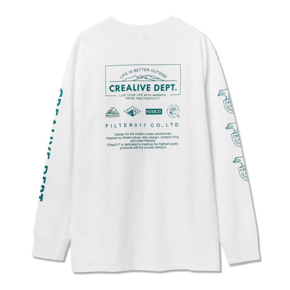 Filter017 - 20AW-HD01 Graphic L/S Tee 圖像 長T (白色)