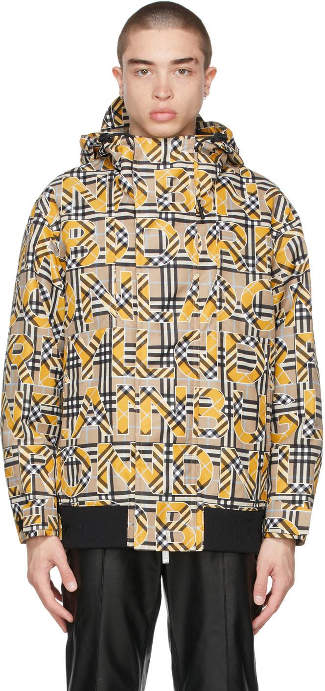 Burberry 驼色 Vintage Check Logo 夹克