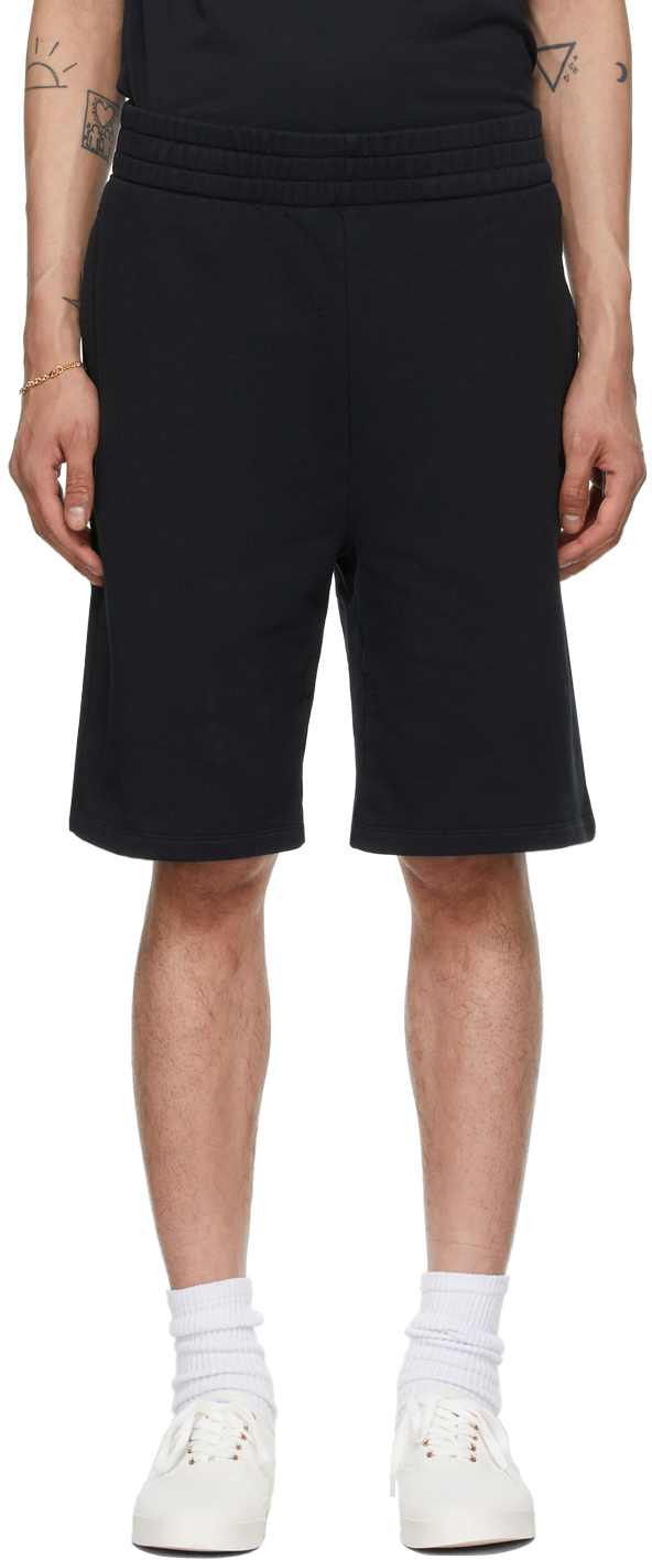 Maison Kitsuné 黑色 Tonal Fox Jog 短裤