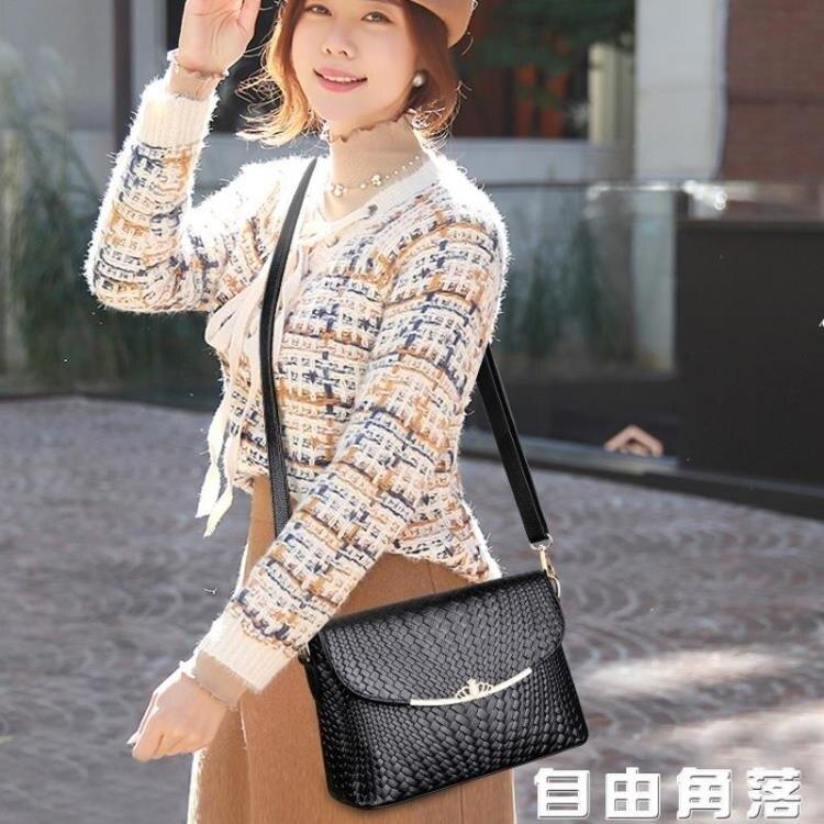 新款女士包包 時尚韓版媽媽包 單肩斜挎包 百搭