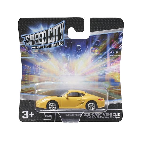 Speed City 極速城市 合金車- 隨機發貨 玩具反斗城