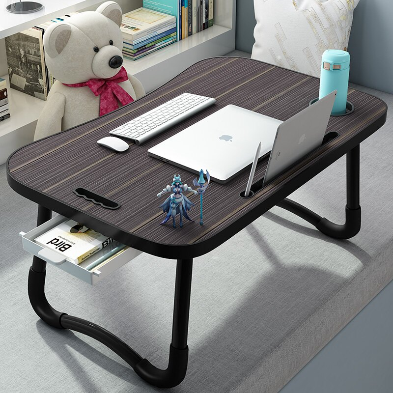 折疊學習桌 床上電腦桌大學生宿舍上鋪懶人可折疊小桌子家用寢室簡約學習書桌