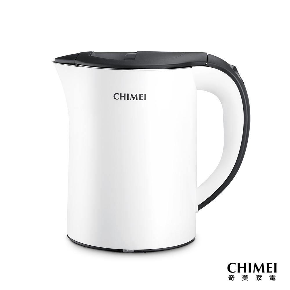 CHIMEI奇美 1.2L不鏽鋼防燙快煮壺 KT-12SUT0