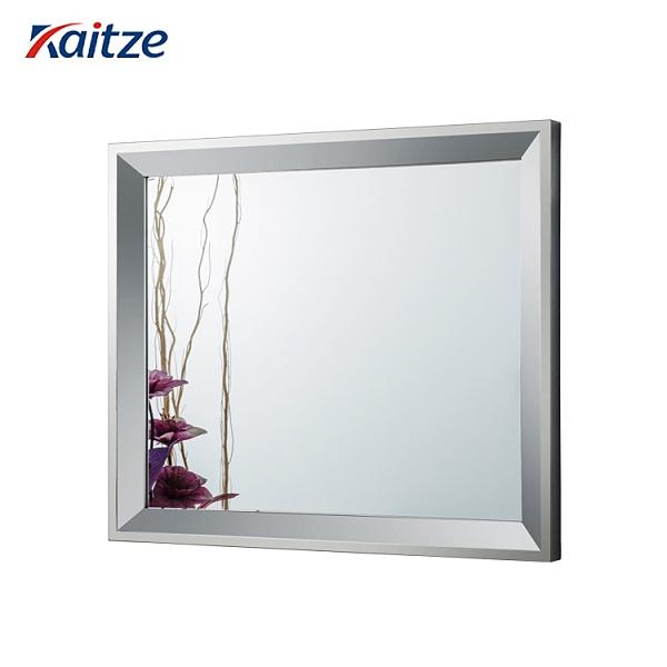 包邊鏡子簡約現代浴室鏡掛墻衛生間梳妝鏡鐵藝方形鏡子北歐現代【頁面價格是訂金價格】