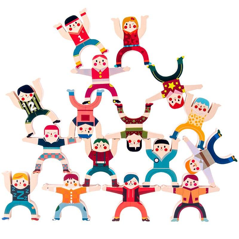疊疊樂 人物兒童大力士疊疊樂積木平衡玩具男女孩早教益智親子互動疊疊高【兒童節禮物】【DD35030】