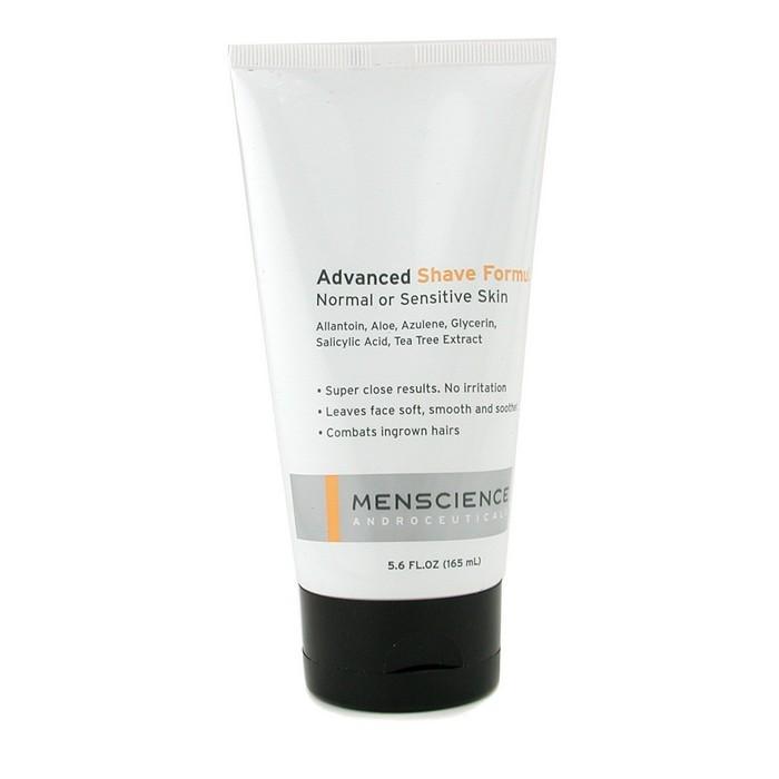 真男士 MENSCIENCE - 高級剃鬚霜Advanced Shave Formula(中性或敏感肌膚適用)