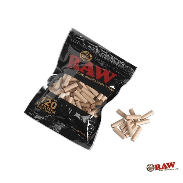 GOODFORIT / 西班牙RAW® Black Natural Unrefined XL Filters纖維濾嘴