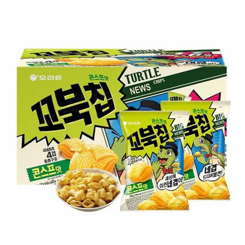 促銷到5月7日 C123285 好麗友 烏龜玉米脆片 136公克 X 6包