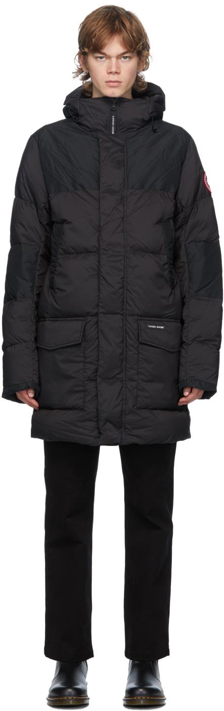 Canada Goose 黑色 Armstrong 羽绒派克大衣