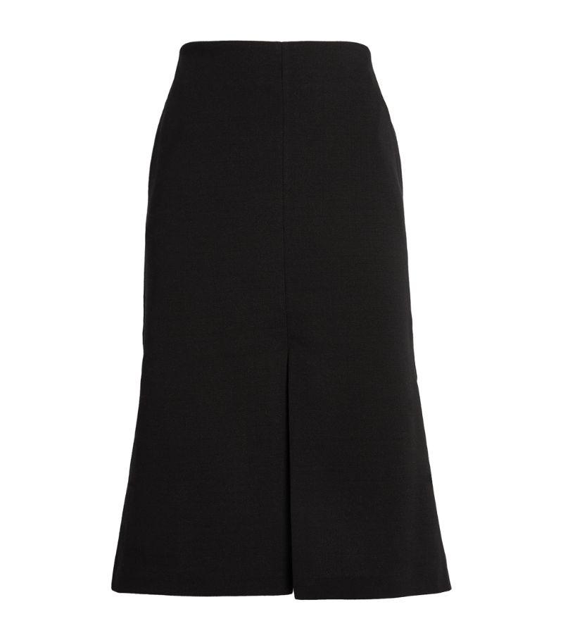 St. John Split Midi Skirt
