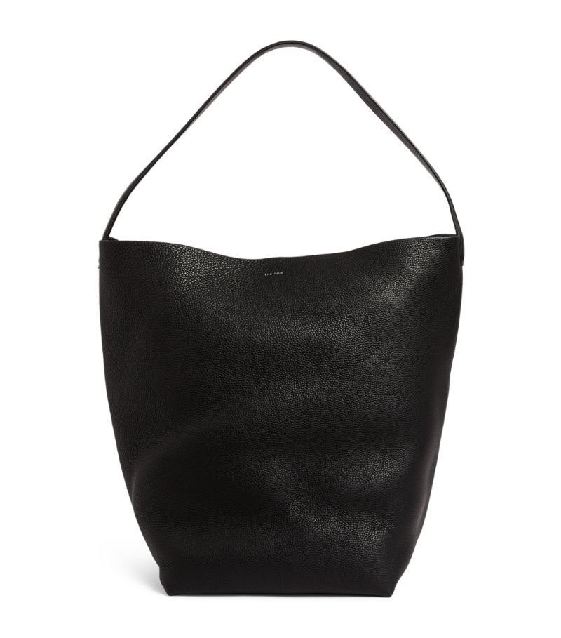 The Row Leather N/S Park Tote Bag