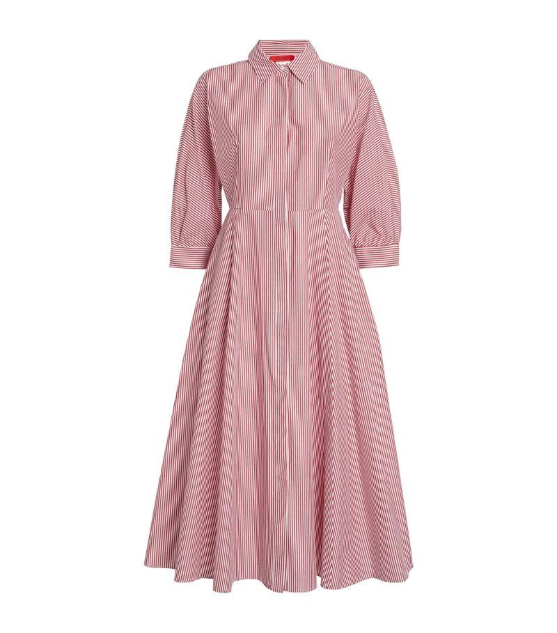 Max & Co. Pinstripe Midi Dress