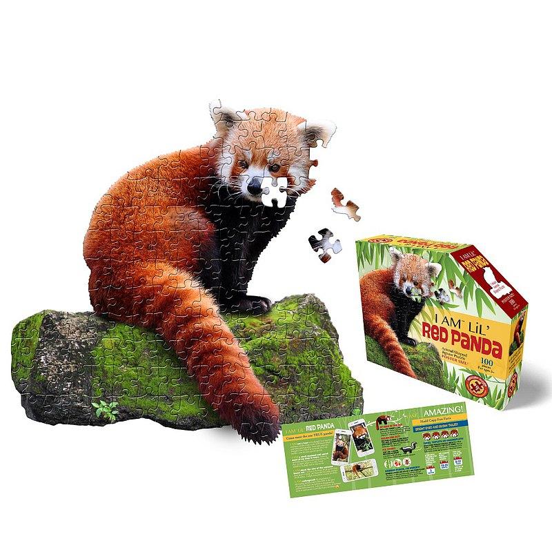 I AM 拼圖, 我是小熊貓, 100 系列 | 極限逼真動物