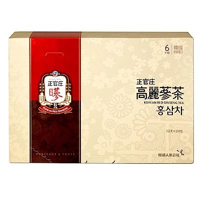 限時滿5千送8%超贈點【正官庄】高麗蔘茶(100包/盒)