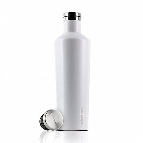 【25小時保冷 12小時保溫】740ml 美國 CORKCICLE 酷仕客 Waterman戶外系列易口瓶(消光白) 304不鏽鋼 水瓶 熱賣中!
