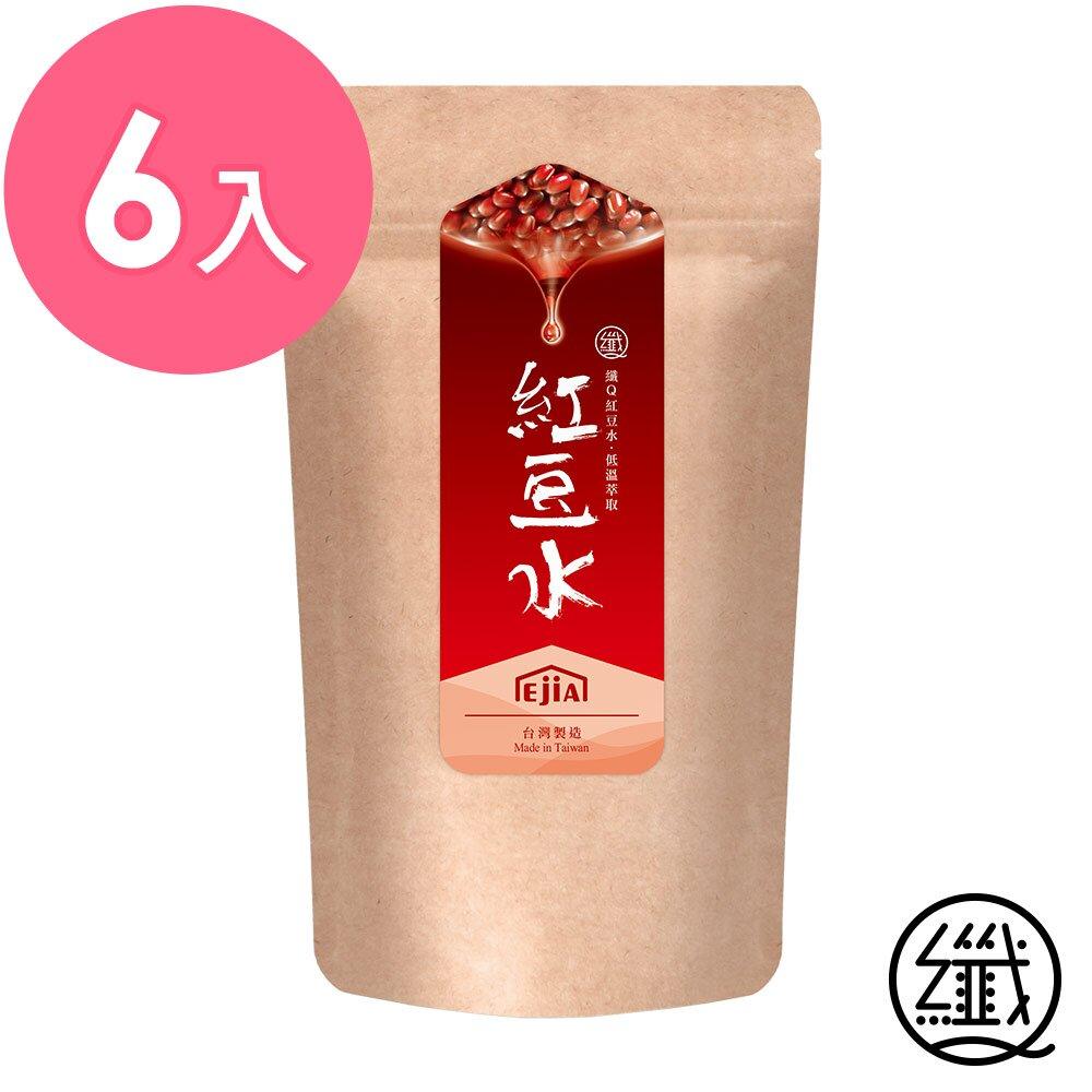 纖Q 紅豆水 6入組