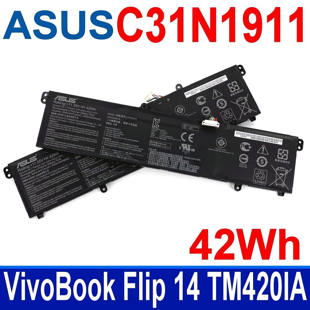 華碩 asus c31n1911 原廠電池 vivobook 14 f413 f413ff x413