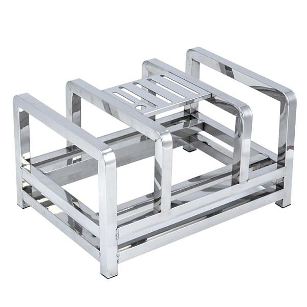 304不銹鋼刀具架菜板架商用砧板架家用廚房食堂多功能菜刀收納架 安妮塔