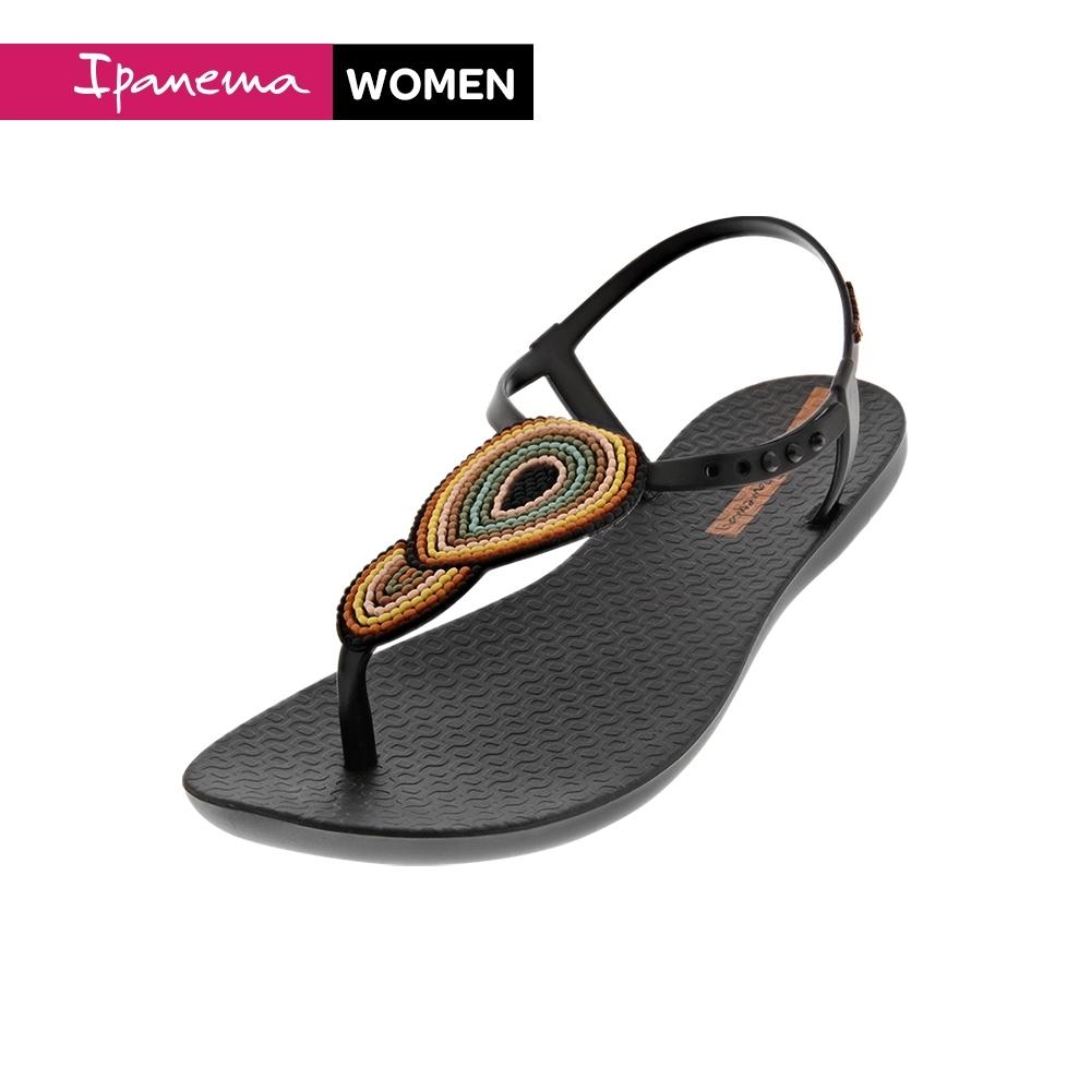 Ipanema [Women] Classic Glam 明星同款T字涼鞋-黑(IP2631224676)