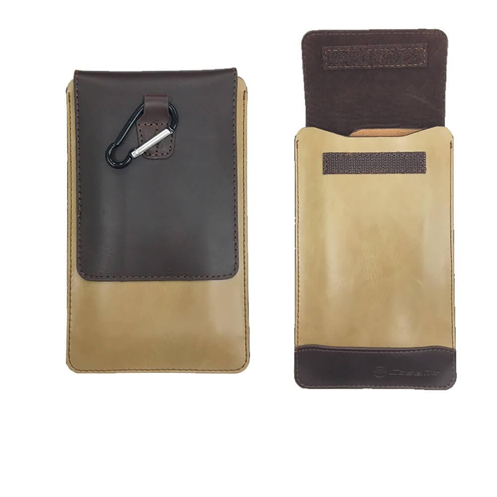 皮革紋萬用手機皮套 腰帶掛包 隨身腰包 手機腰包 通用款腰包 適用4.5~5.2吋皮夾手機套 腰掛腰包皮套 其他手機周邊