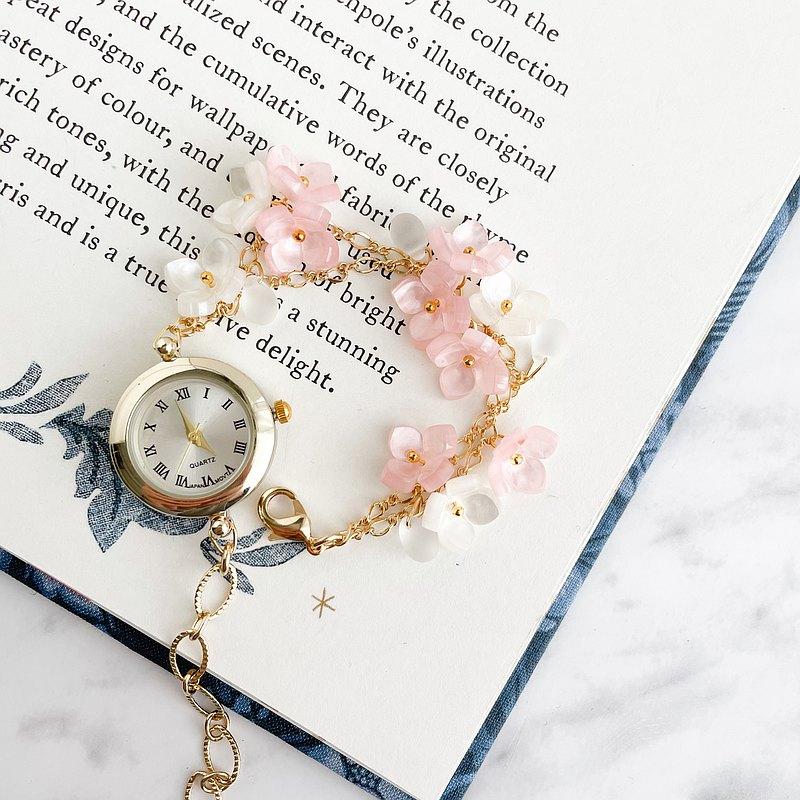 希爾達繡球手鍊手錶LI153