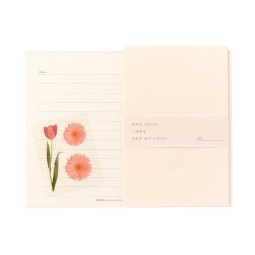[ARTBOX] 粉色花朵信紙組