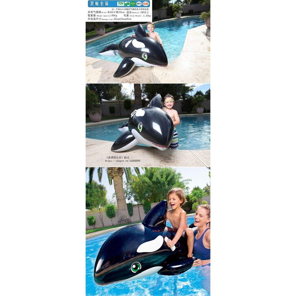 免運 多款式充氣游泳圈 家用戲水池玩具 戶外氣墊游泳池 嬰幼兒童水上座騎 親子玩具 加厚造型浮排浮床 水上用品h5036