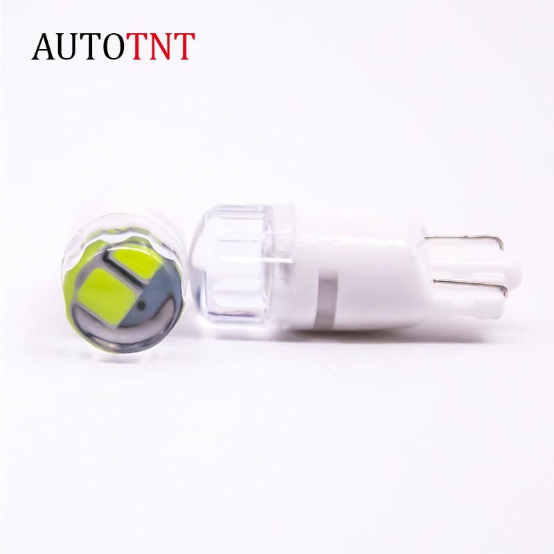 AUTOTNT T10 LED 示寬燈 魚眼小燈 汽車小燈 方向燈 室內燈 日行燈 機車 透鏡 陶瓷材質