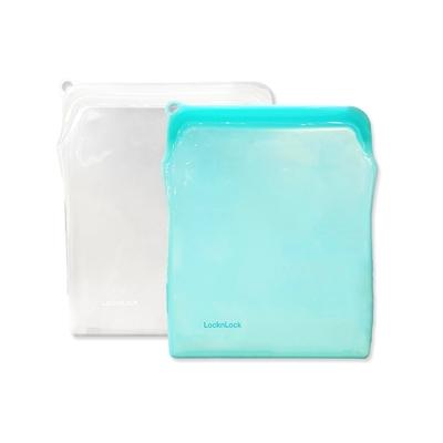樂扣樂扣 N次矽膠密封袋1.96L(2色)