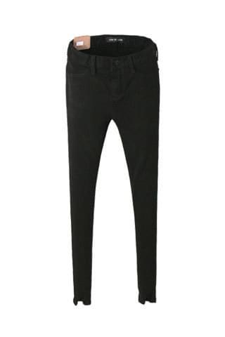 韓國空運 - Courtney high Fleece-lined skinny 牛仔褲