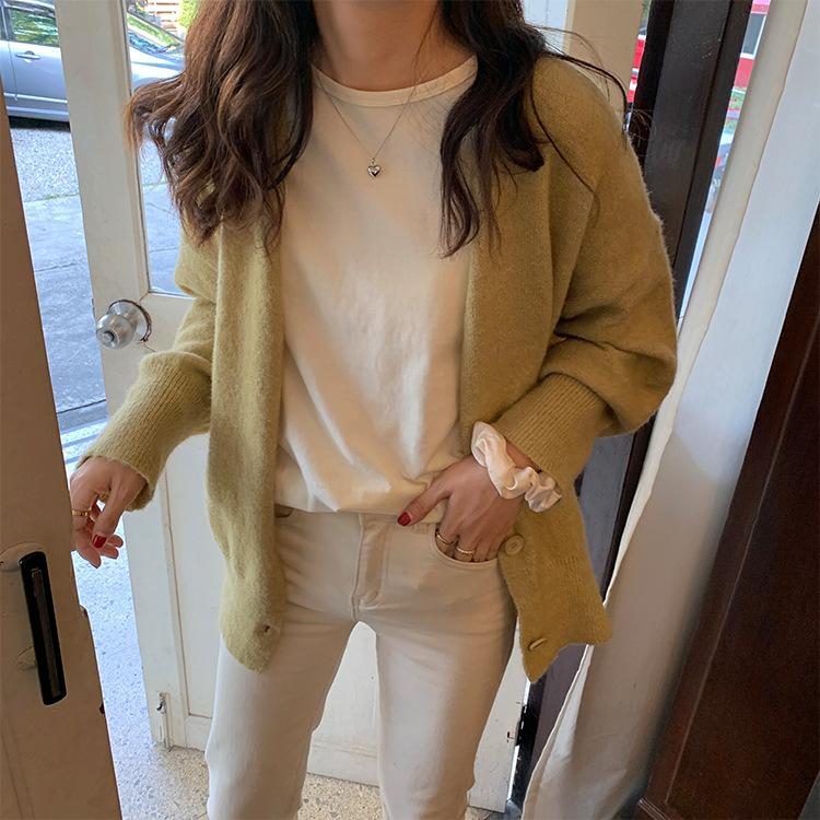 【missy shop】溫文儒雅小針織罩衫-M1776