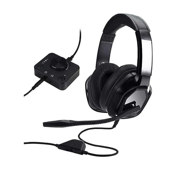 [2美國直購] Amazon Basics 外接調音台耳機 兼容PC Mac Xbox PS4 B07L8TTY9Z