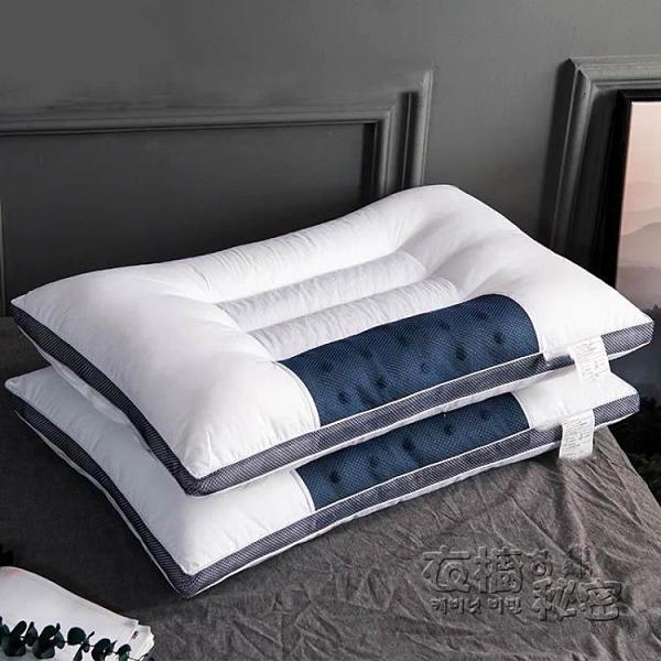 枕頭 真品羅萊家紡枕頭枕芯一對裝家用不塌陷不變形決明子椎助睡眠 衣櫥秘密