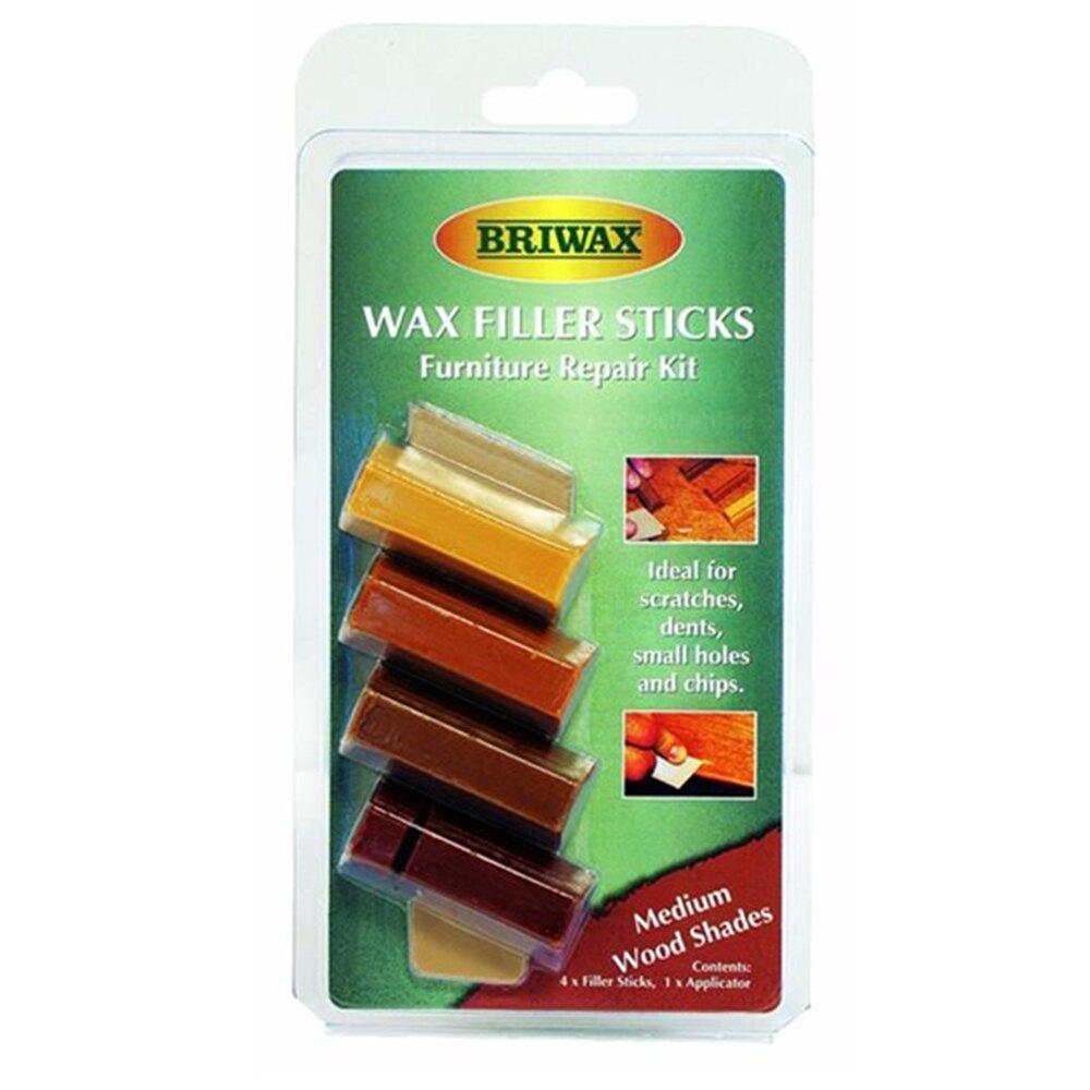 【英國Briwax】木製品補色修復棒-中間色系