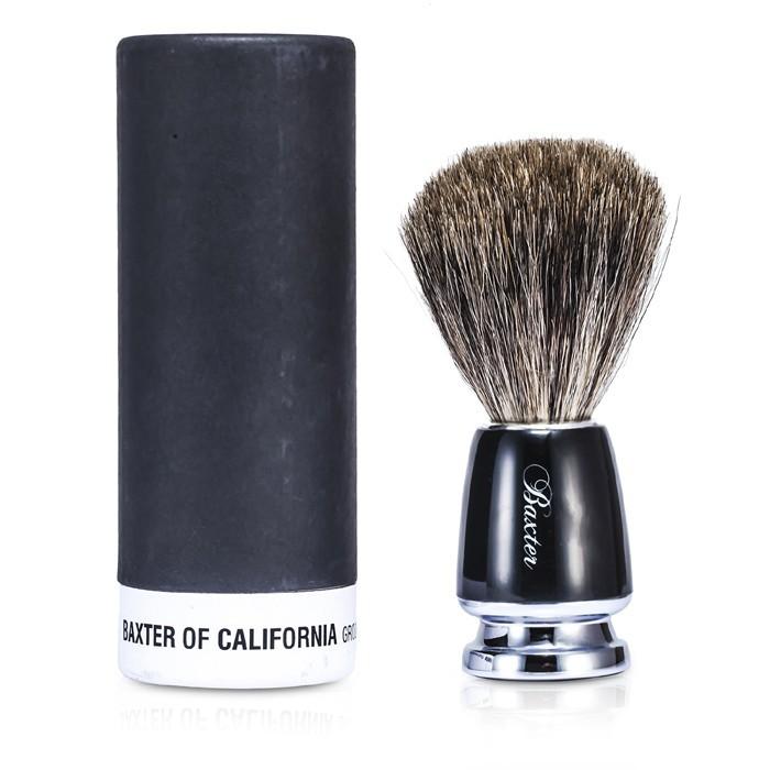 加州巴克斯特 - 巴克斯特獾毛剃鬚刷 Baxter Badger Hair Shave Brush (黑色)
