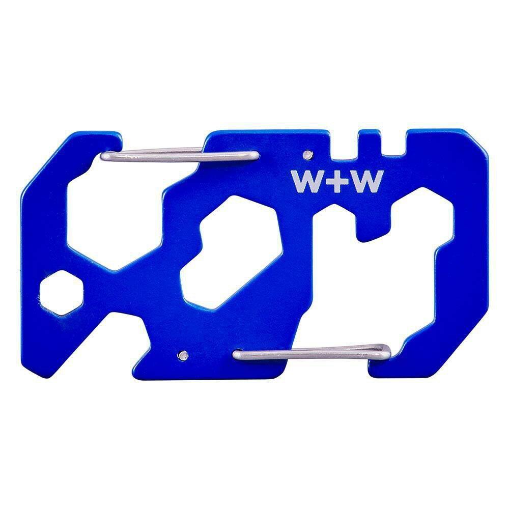 【W+W】迷你多功能卡片工具鑰匙圈