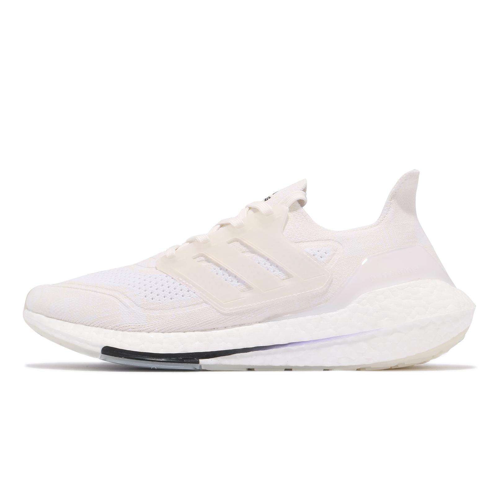 adidas 慢跑鞋 Ultraboost 21 Primeblue 全白 白 男鞋 愛迪達 路跑 ACS FY0836