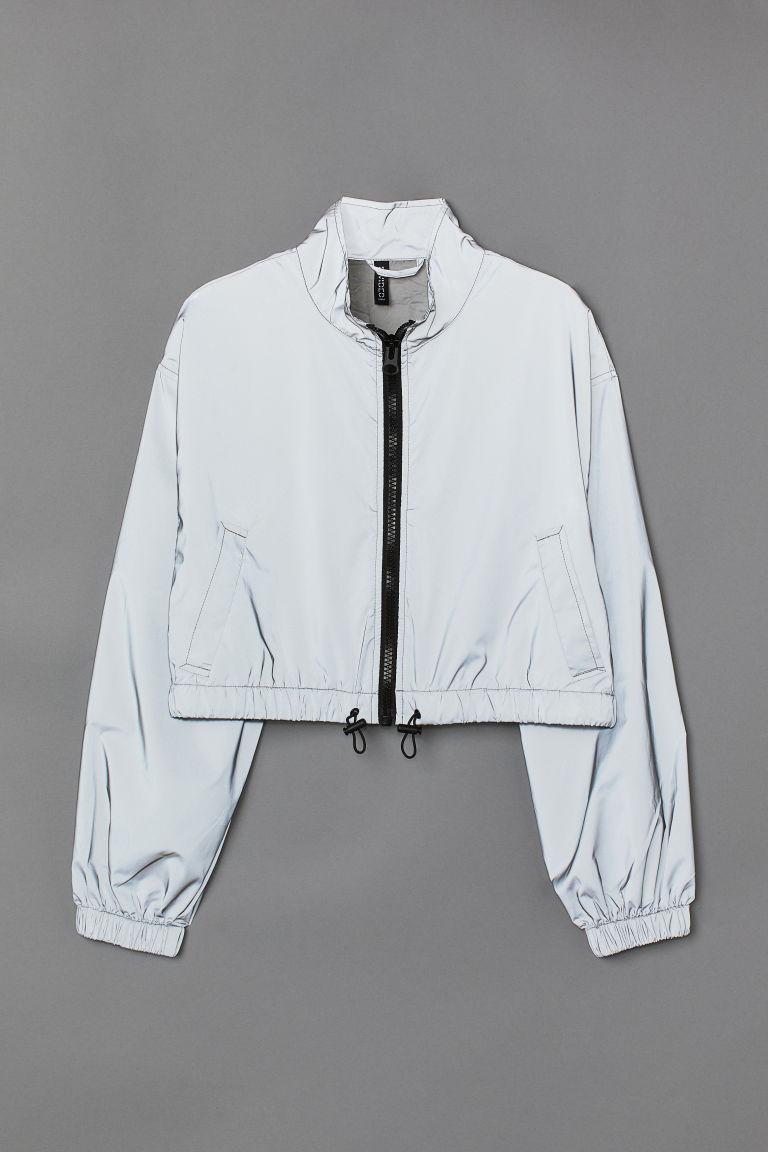 H & M - 反光外套 - 灰色