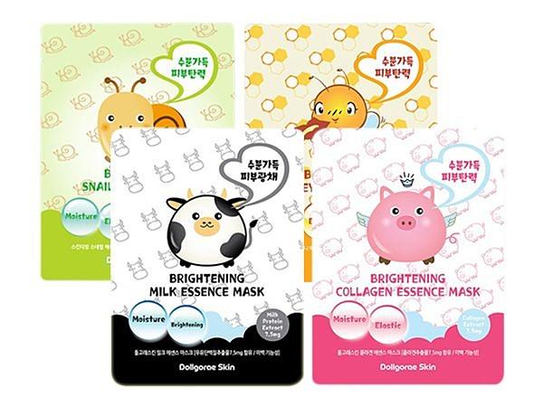 韓國 Dollgorae Skin 淨白保濕緊緻面膜(單片26ml) 款式可選【小三美日】