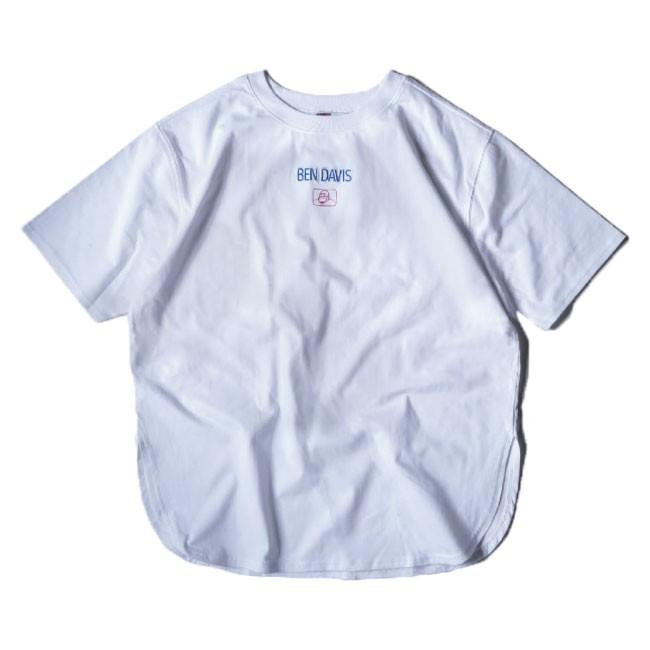 BEN DAVIS BDZL1-0005 LADIES ORGANIC TEE 有機棉 抗菌防臭 女款 短T (白色)