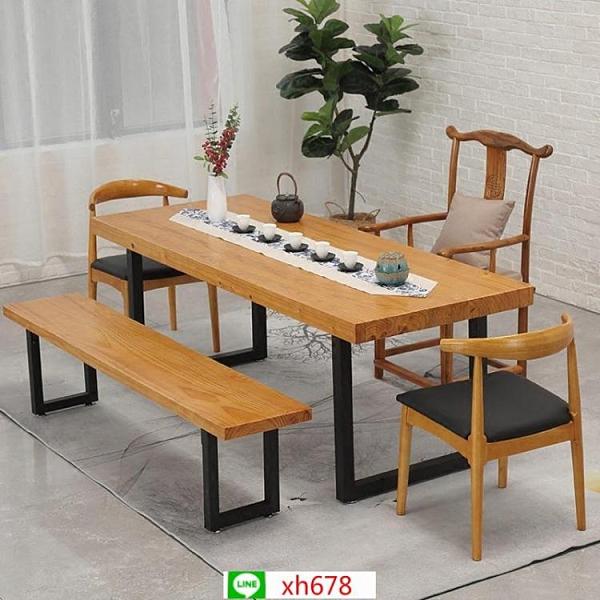 現代家用客廳書房實木茶桌創意辦公接待功夫茶桌酒店會客泡茶桌椅【頁面價格是訂金價格】