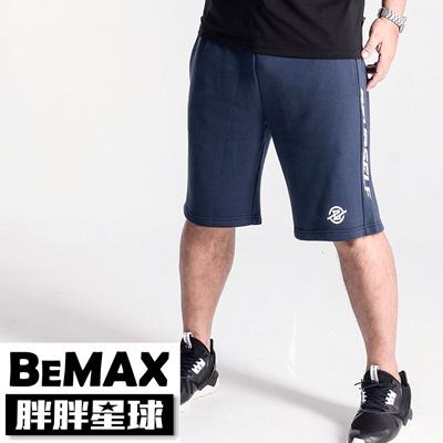 【胖胖星球】中大尺碼‧美式運動風鬆緊棉短褲 2XL~5XL‧加大【107209】