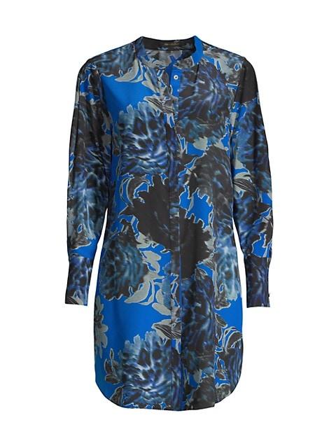 Gemma Floral Silk Tunic